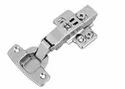 Slimline Clip On Cabinet Hinges Hydraulic 4 Hole- 0 Degrees