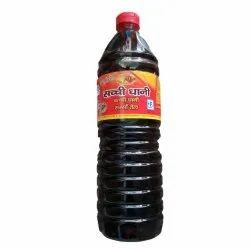 1 Litre Sachchi Dhani Kachi Ghani Mustard Oil, Packaging Type: Plastic Bottle