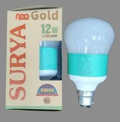 Round Cool Daylight Surya Neo Gold 12W LED Bulb