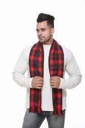 Designer Men Woolen Red Scarves