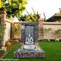 Shiva Statue With Fountain