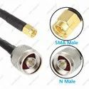 High Gain 12 dBi Outdoor LPDA Antenna With SMA To N Male Connector LMR200 Cable - 25 Meters