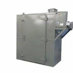 Semi-Automatic Mild Steel Tray Dryer, 48 Trays, Capacity: 250 Kgs