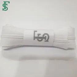 White Plain Nylon Zipper Roll
