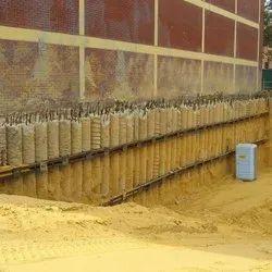 Shore pile construction in pune