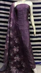 Party Wear Cotton Silk Salwar Suit