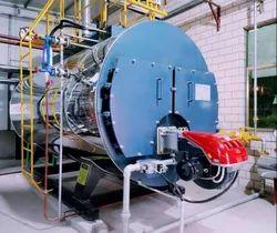 Oil Fired 1000 Kg/Hr Steam Boiler