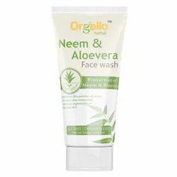 Orgello Neem And Aloe Vera Face Wash, Age Group: Adults, Packaging Size: 100 ml