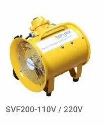 SVF200-110V Electric Portable Ventilation Fans Explosion Proof, AC-100V