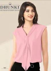 Dhunki Designer Sleeveless Ladies Top