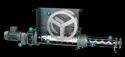 Hopper with Feeding Screw Pump