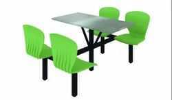 Godrej Mild Steel 4 Seater Canteen Table