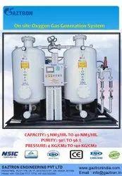 psa oxygen gas generation plant