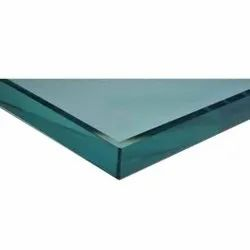 50 mm Plain Toughened Glass, For Partition,Window etc., Shape: Flat