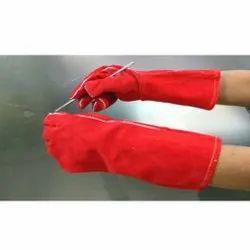 Red Welding Glove