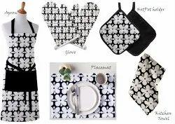 Printed Halloween Kitchen Linen Set