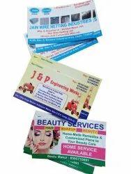 Paper Digital Visiting Card Printing Service, in Pan India
