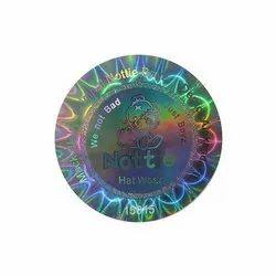 Digital E Beam Hologram Sticker