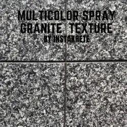 Multicolor Granite Finish Texture