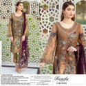 Ramsha Vol 9 By Rinaz Heavy Embroidery On Georgette Pakistani Dresses