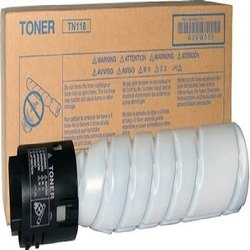 Konica Minolta TN-118 Black Toner Cartridge