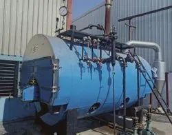 Coal Fired 1500 kg/hr Packaged Smoke Tube Steam Boiler