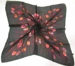 Tabby Silk Square Scarves