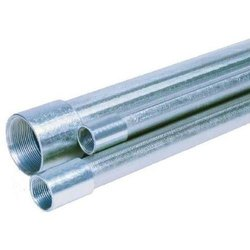 Galvanized Iron Screwed End MS Pipe