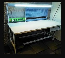 MS Work Table With Drawers