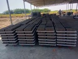 Semi-automatic Fly Ash Bricks Solid Concrete Bricks From Visakhapatnam Factory