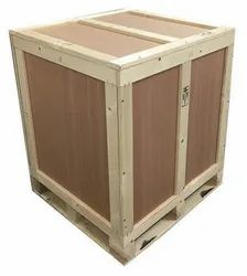 Hardwood Box, For Packaging, Size: 42x42x30 Inch