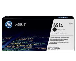 HP 651A Black Original LaserJet Toner Cartridge (CE340A)