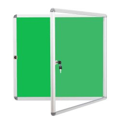 Notice Board With Acrylic Sheet Lockable, Lockable (4 Feet X 3 Feet Or 121 Cm X 91 Cm)