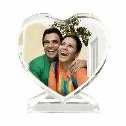 in Hyderabad Acrylic Heart Shape Photo Printing Service