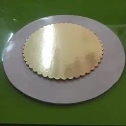Gold Cake Base Board