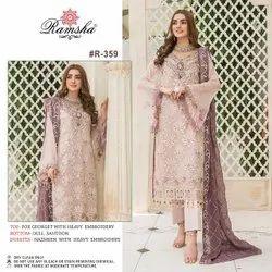 Ramsha Designer Pakistani Salwar Suit
