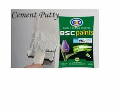 BSC Paints Cement Wall Putty 20 Kg