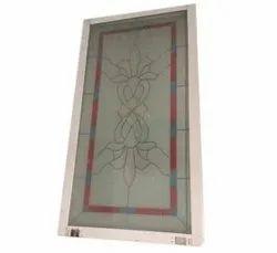 Slide & Fold Paint Coated 8mm UPVC Glass Door, For Office, Interior