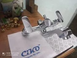 Ciko Brass Wall Mixer with L Bend, For Bathroom Fittings, Size: 15MM