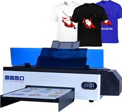 Dtf Printer White Ink Tshirt Printing Cmyk White For Any Fabric Printing
