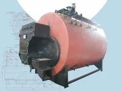 Coconut Shell Fired 3000 Kg/hr Steam Boiler