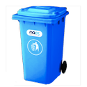 Wheeled Garbage Dustbin And Trash Can