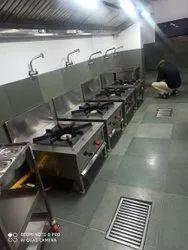Commercial Bulk Cooking Gas Range