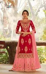 5 colour Georgette Shree Fab Shehnai Bridal Collection Vol 26 Designer Suit