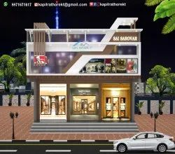 Residential Projects Shop Building Construction Service