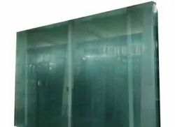 Plain 10mm Tempered Clear Door Glass