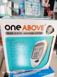 One above blood glucose monitoring