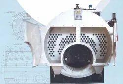 Solid Fuel Fired 2000 kg/hr Steam Boiler