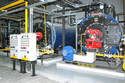 Oil & Gas Fired 14 TPH Steam Boiler IBR Approved