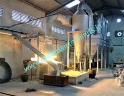 Zinc Dross Fume Exhaust System